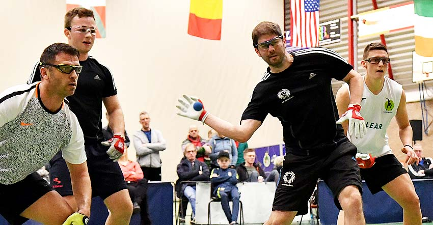 UK Wallball Sweeps Doubles Titles at Dutch Open